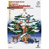 Spiel und Spaß mit der Blockflöte: Die schönsten Weihnachtslieder für 1-2 Sopranblockflöten (mit Text) - Das Heft für Blockflötenschüler enthält die schönsten Weihnachtslieder in sehr leichten Bearbeitungen - Noten/sheet music