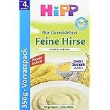 Hipp Feine Hirse, glutenfrei, 4er Pack (4 x 350 g)