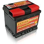 ECTIVE EPC-Serie 12 V Autobatterie 10 Varianten: 44Ah - 100Ah