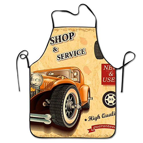 Kostüm Sexy Basketball - HTETRERW Flaming Basketball Art Polyester Apron for Baking Crafting Gardening Cooking Durable Easy Cleaning Creative Bib for Man and Woman Standar Size