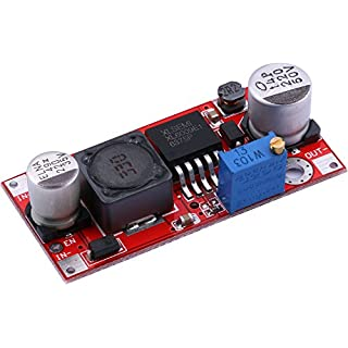 DC Boost Konverter,Yeeco LM2577 DC-DC-Aufwärtswandlerplatine 5-32V 12V 24V auf 5-50V 36V 48V Spannungsregler Booster-Modul 15W einstellbare Spannung Step-Up-Transformator-Stabilisator-Netzteil
