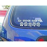 Ich Bremse Auch Für Tiere Igel Aufkleber Tierschutz Autoaufkleber Auto