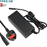 Tree.NB 12V 3.58A Laptop Power Supply AC Adapter Charger for Microsoft Surface Pro 1 Pro 2 3 Years Warranty