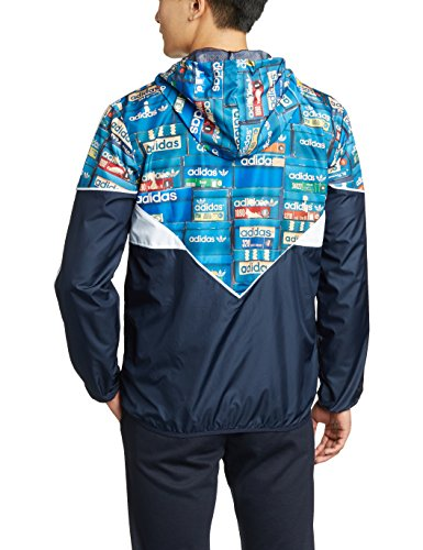 adidas Colorado Windbreaker Multicolor Navy Mehrfarbig