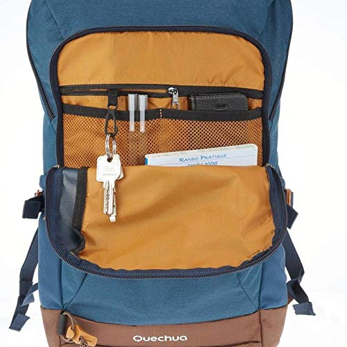 Best decathlon backpack in India 2020 QUECHUA NH500 20-L Hiking Backpack - Blue Image 6