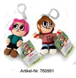 Scott Pilgrim Plush Clip On 10 cm Fig. Set (2 ct.)