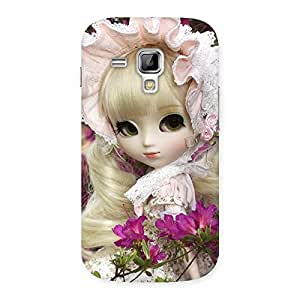 Stylish Angel Look Doll Back Case Cover for Galaxy S Duos