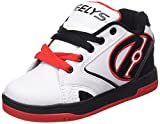 Heelys Propel 2.0 770599, Jungen Lauflernschuhe Sneakers, Mehrfarbig (White/Black/Red), 33 EU (1 UK)
