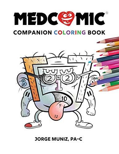 Medcomic: Companion Coloring Book