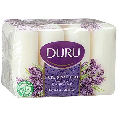 3x Duru Pure & Natural Seife Festseife Handseife Beauty Soap 4x85gr