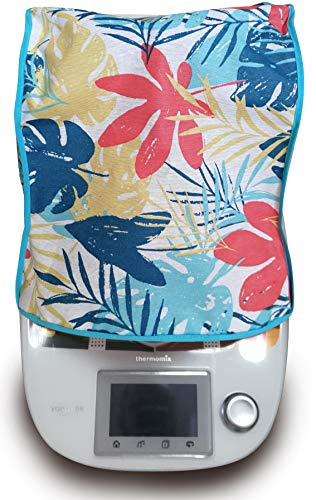 Funda antimanchas Thermomix TM31 & TM5 & TM6 FLORES
