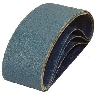 A&H Abrasives 108617, Sanding Belts, Zirconia Alumina, (y-weight), 3x21 Zirconia Alumina 24 Grit Sander Belt, 10 Each by A&H Abrasives