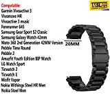 Best Moto 360 Metal Band - Taslar Stainless Steel 3 Beds Metal Band Strap Review
