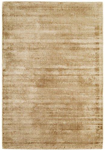 Alfombra salon sala de estar Carpet pelo largo Design BLAD SHAGGY UNI RUG 100% Viskose 120x170 cm Rectangular Beige   Alfombras barata online comprar