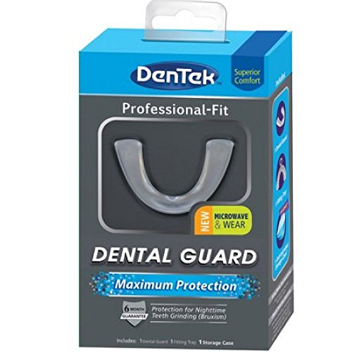 dentek-maximum-protection-dental-guard-night-time-teeth-grinding-care-forming-tray-and-storage-case-