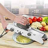DD/LZY Vegetales de usos múltiples de Frutas Mandolina Profesional máquina de Cortar Vegetal rápida del rallador del Interruptor de Corte con Cuchillas Ajustables