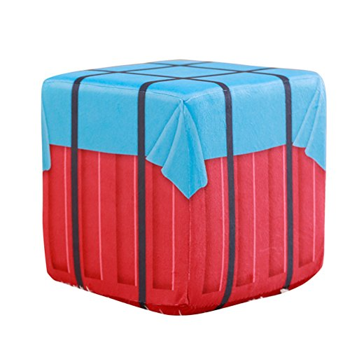 WYCY PUBG Air Drop Box Kissen Hocker Essen Huhn Airborne Drop Box Gewinner Gewinner Huhn Dinner Around Spiel Airdrop (10CM) Dinner-box