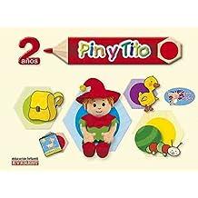 Pin y Tito con inglés 2 años: Educación Infantil (Proyecto Pin y Tito) - 9788424169053