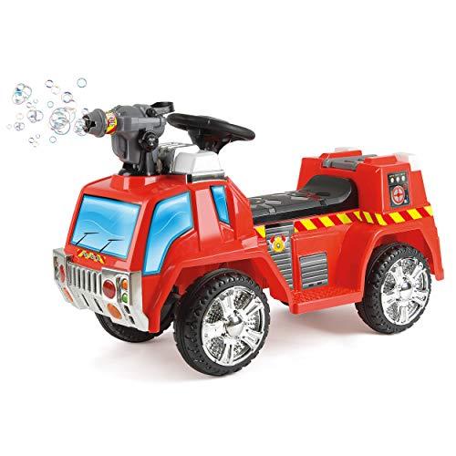 feuerwehrauto lena Unbekannt Toyrific elektrisches Kinder-Feuerwehrauto mit Seifenblasenpistole, Lichtern und Sirenen