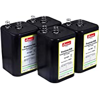 Ersatz für Nissen Laternenbatterie IEC 4R25 4x 4er Set Camelion 4R25 6V-Block