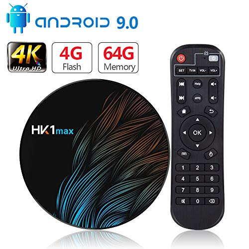 Android 9.0 TV Box【4G+64G】con Mini Teclado inalámbirco