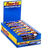 PowerBar 35 g Chocolate Brownie Protein Plus Low Sugar Bar - Pack of 30