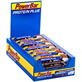 PowerBar Protein Plus Low Sugar, Chocolate-Brownie, 1 x 30 Stück (30 x 35g)