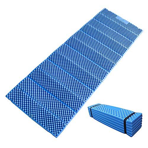 Lixada 190x57cm tappetino da campeggio in schiuma ultraleggero cuscinetto imbottito materasso da esterno pieghevole per la spiaggia tenda picnic