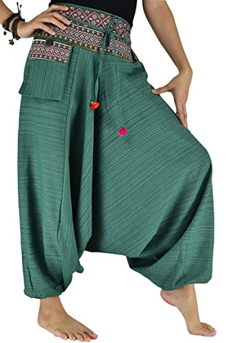 Bjelly Traditional Loose Harem Cotton Pant Unisex …