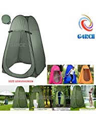 G4RCE® Portable Instant POP Up Tent Camping Toilet Shower Changing Single Room Privacy Travel Tent With Bag