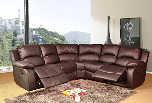 Prime Lovesofas Valencia Electric 2C2 Bonded Leather Recliner Corner Suite Brown Download Free Architecture Designs Sospemadebymaigaardcom