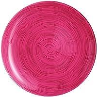 Luminarc 9212135 – Juego de Platos de Postre (6 Unidades, Cristal, Rosa,
