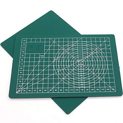 A3 Schneidunterlage, Schneidunterlage für Patchwork A3 ,Schneidunterlage für Patchwork ,PVC Pad Patchwork Patchwork DIY Handwerkzeuge Doppelseitiges Schneidebrett-Werkzeug Selbstheilend