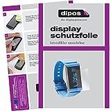 dipos I 6X Schutzfolie klar passend für Withings Pulse Ox Folie Bildschirmschutzfolie