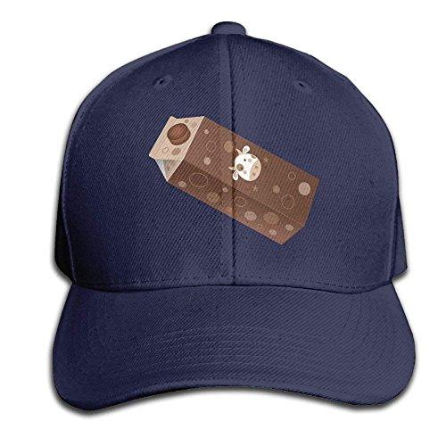 Preisvergleich Produktbild Pillowcase Wholesale Chocolate Milk Adult Adjustable Polo Cap Flat Polo Hat