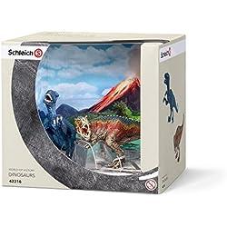 Schleich T-Rex and Velociraptor Toy (Small) by Schleich