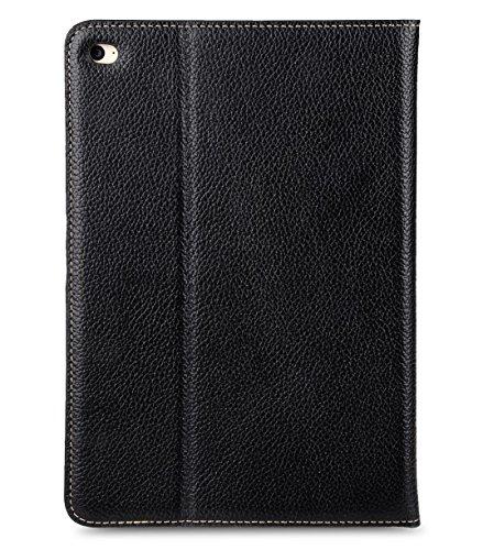 Apple Iphone 7 Plus Melkco Premium Cowhide Leather Herman Series Book Style Case mit Premium Leder Handcrafted Guter Schutz, Premium-Gefühl-Schwarz Schwarz LC