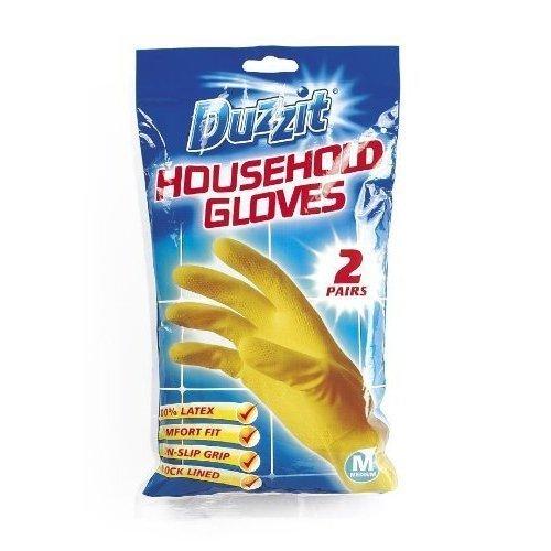 duzzit-household-gloves-rubber-gloves-2-pairs-medium
