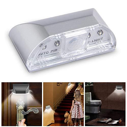 Preisvergleich Produktbild Goodtimes28 Clearance Deals 4-LED PIR Infrarot-Bewegungsmelder,  Schlüsselloch-Nachtlicht Multi