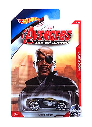 Hot Wheels Exclusive - Avengers Age of Ultron - Nick Fury - Ultra Rage by Hot Wheels