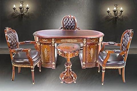 bureau baroque chaise réplique bureau pivotant style antique tableau
