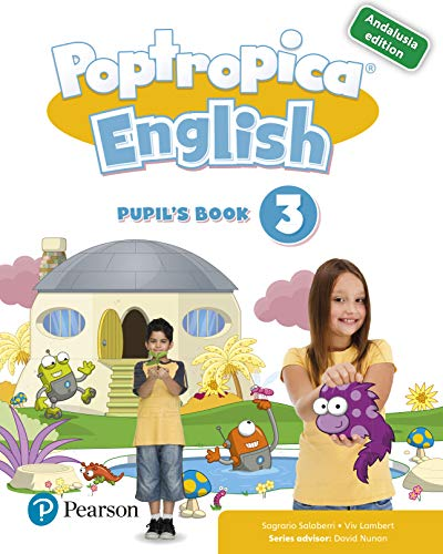 POPTROPICA ENGLISH 3 PUPIL'S BOOK ANDALUSIA