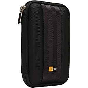 Case Logic QHDC101K Portable Harddrive Case 6,3 cm (2,5 Zoll) für externe Festplatten Schwarz