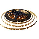 SET: LED STRIP Leiste Band Warmweiss - INKL.  NETZTEIL / 300 LEDs / 5 METER - MFYLED-5WW