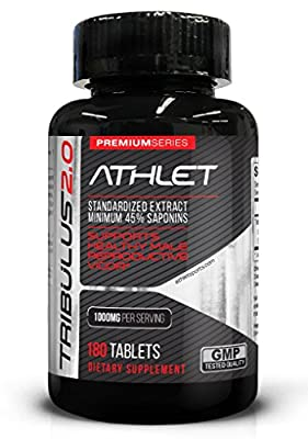 Athlet Tribulus 1000 mg 180 Tabs from Athlet