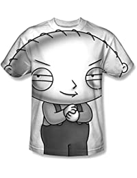 Family Guy - Mens Stewie Head T-Shirt