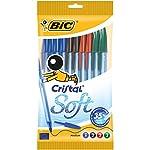 BIC Cristal Soft bolígrafos pu...