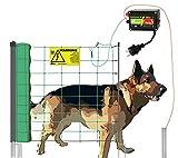 Hundezaun aufstellfertig ( 50m ) beliebig erweiterbar - Weidezaun für Hunde