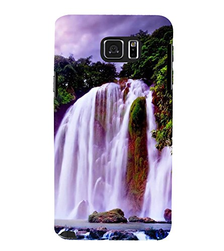 PrintVisa Designer Back Case Cover for Samsung Galaxy Note8 :: Galaxy Note8 :: Samsung Note8 :: Samsung Galaxy Note8 Duos (White Green Blue Clouds Fountain)