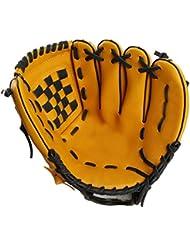 CHT Baseball En Plein Air Dans Un Gant De Baseball Pvc Adulte / Paragraphe Juvénile Gants De Pichet Sauvages Softball Gants Dérapant Brun